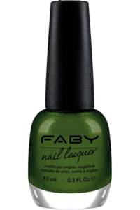 Faby Usa Nail Polish in Glittering Chlorophyll