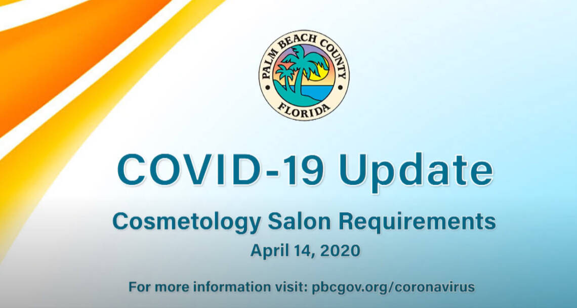COVID 19 Cosmetology Salon Requirements